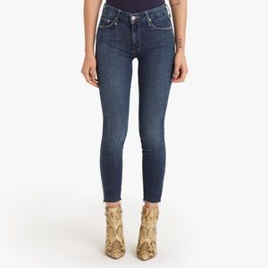 MOTHER Looker Ankle Fray Jeans- Never Worn